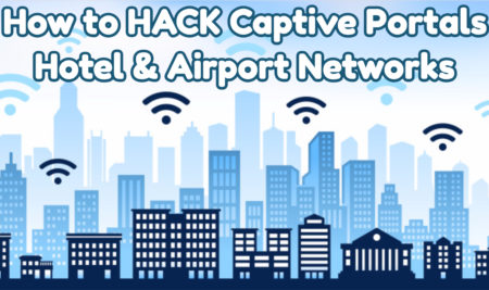 Hacking Into a Captive Portal Using Monitor Mode