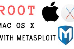 ROOT mac OS X