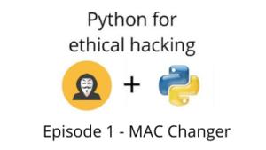 MAC address changer using Python