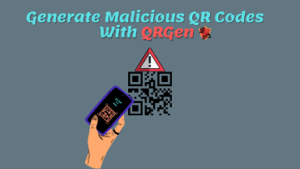 Create Malicious QR Codes like MrRobot