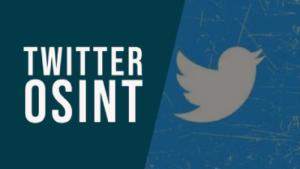 Twitter OSINT