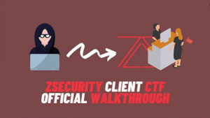 zSecurity Client CTF Official Walkthrough